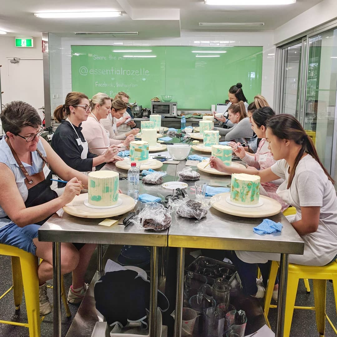 Cake Decorating Workshop held at The Essential Ingredient Surry Hills