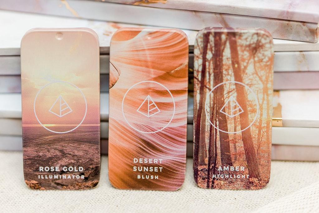 Magnetic customizable Maskcara makeup tins