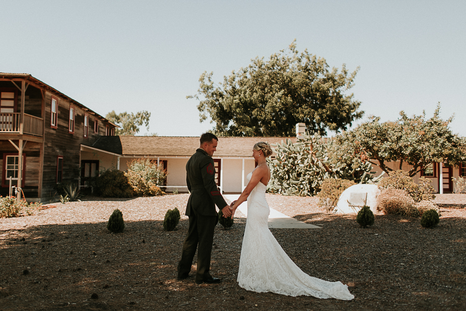Camp Pendleton Ranch House   Jake and Jessie were married on the most perfect day at Camp Pendleton. The day was relaxed and we worked together early on to plan plenty of time for a the couple to have a First Look Session before the ceremony.    View Gallery