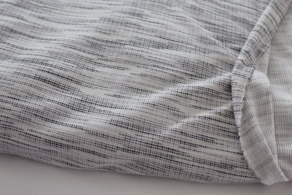 Famous Maker Graphite Space Dye Tri-Blend Knit