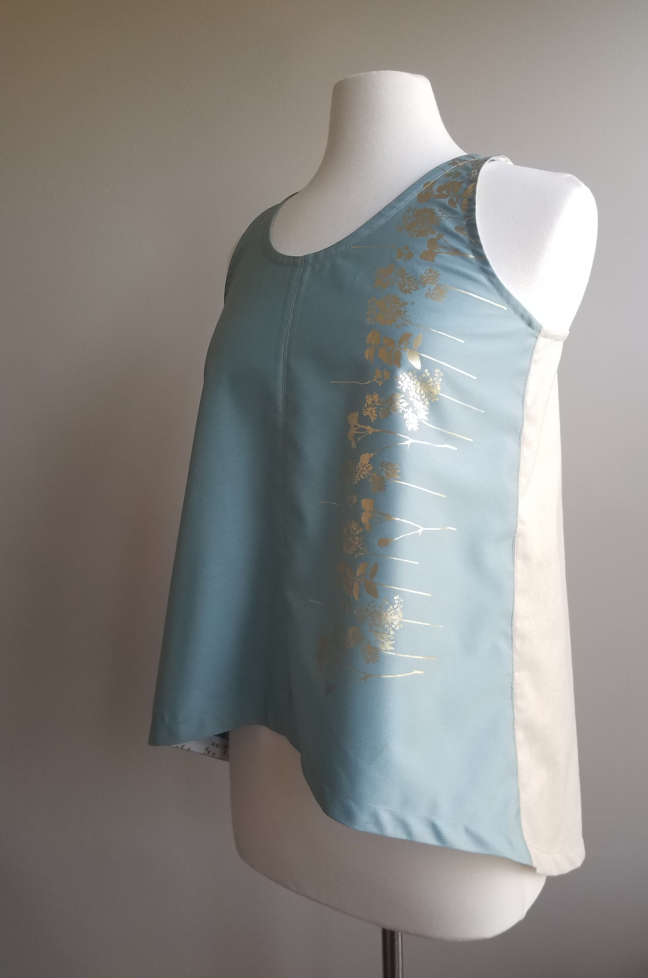 Pattern-  Baste + Gather Foxglove tank