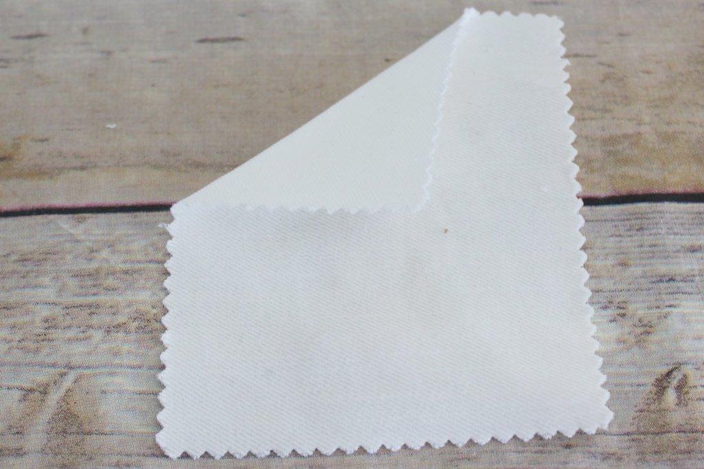 Famous Maker Off-White Tencel Blend Stretch Denim