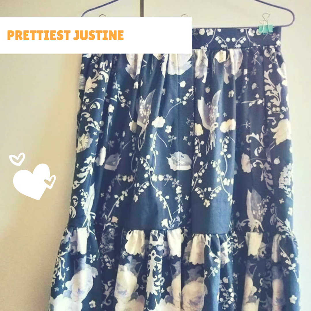 We love your  Justine skirts ,  Agnes !