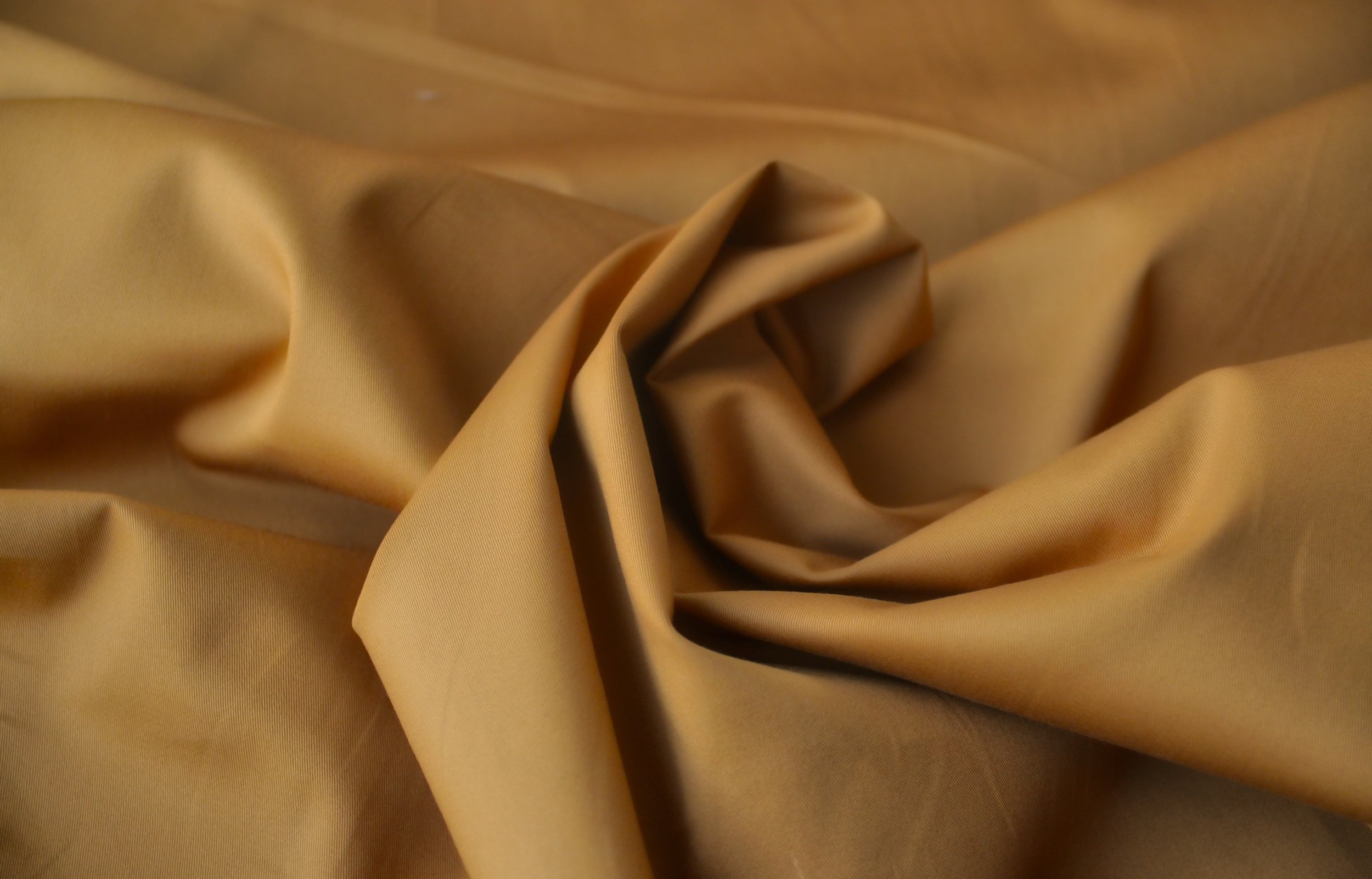 Stretch Cotton Twill- Ochre