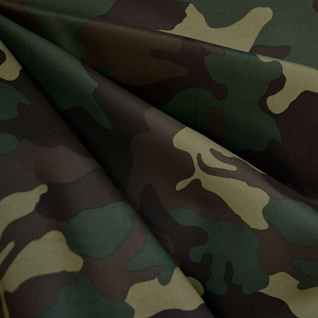 Camouflage Sateen