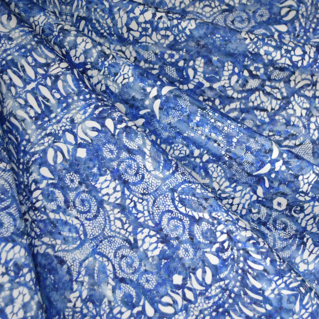 Lace Print Sateen
