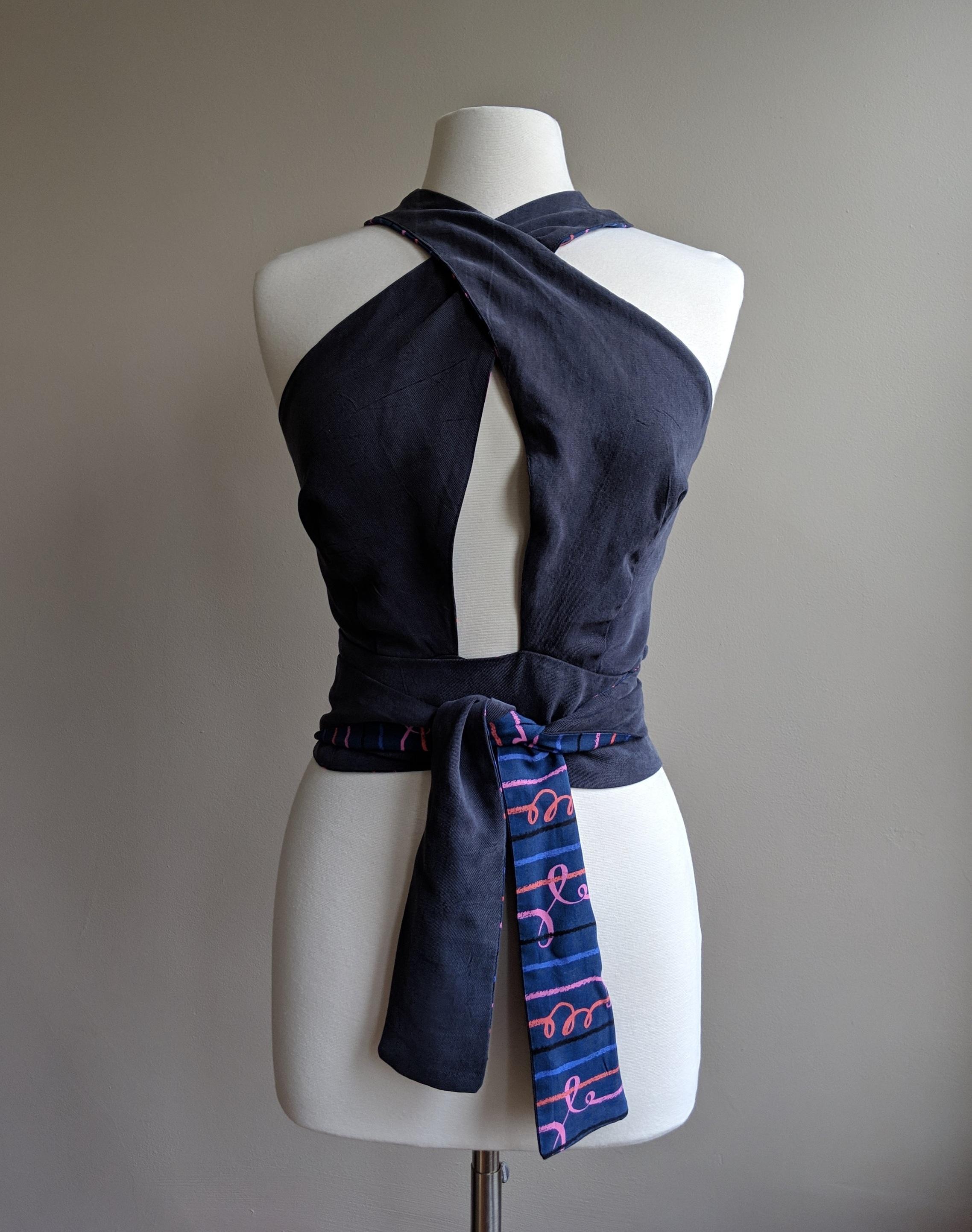 front tie