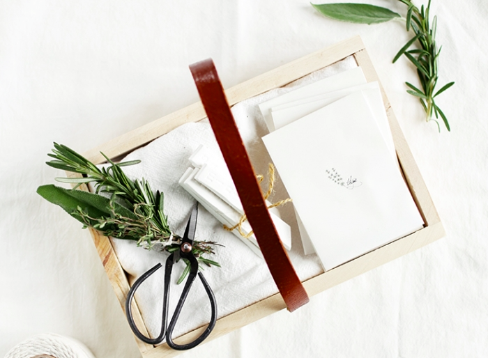 DIY Herb Garden Starter Kit by The Merry Thought