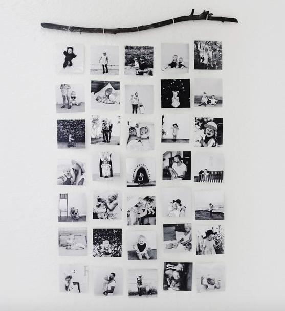 DIY Photo Wall Hanging By Kelli Murray