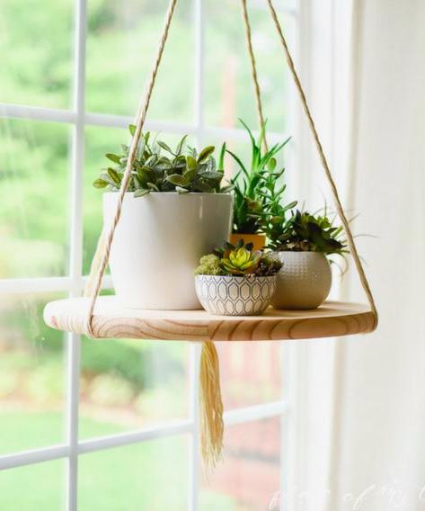DIY Floating Shelf By Place Of My Taste