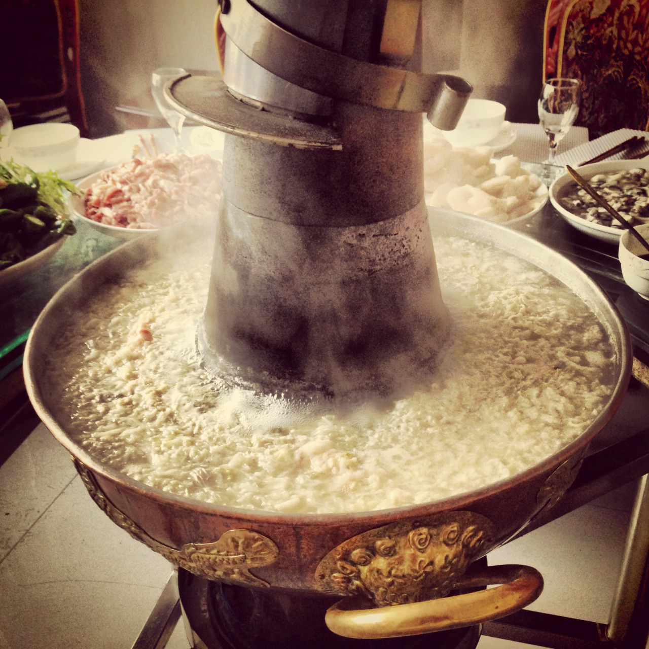 A really really big hot pot