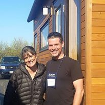 Meeting Dee Williams, The Godmother of Tiny, at the Portland Tiny House Conference in Spring, 2015.
