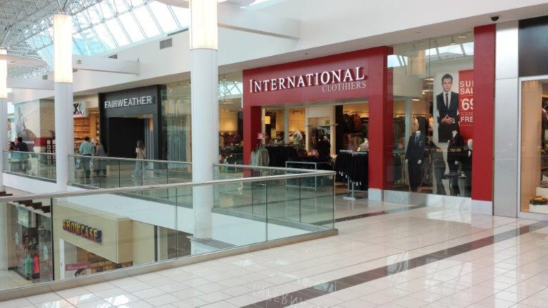 Over a number of years, we have completed tenant improvements for International Clothiers retail chain.