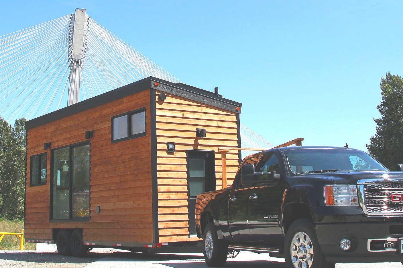 Sonora Tiny House in Vancouver, British Columbia.
