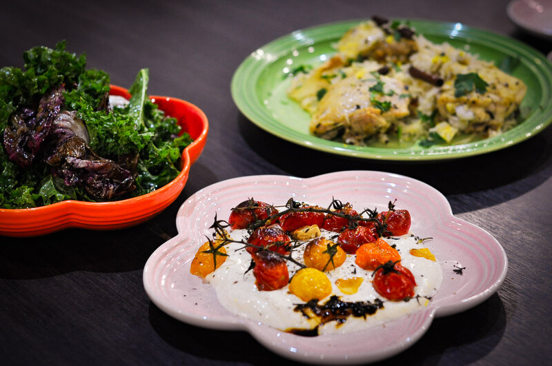 The trio of dishes sure to impress any dinner guest :)