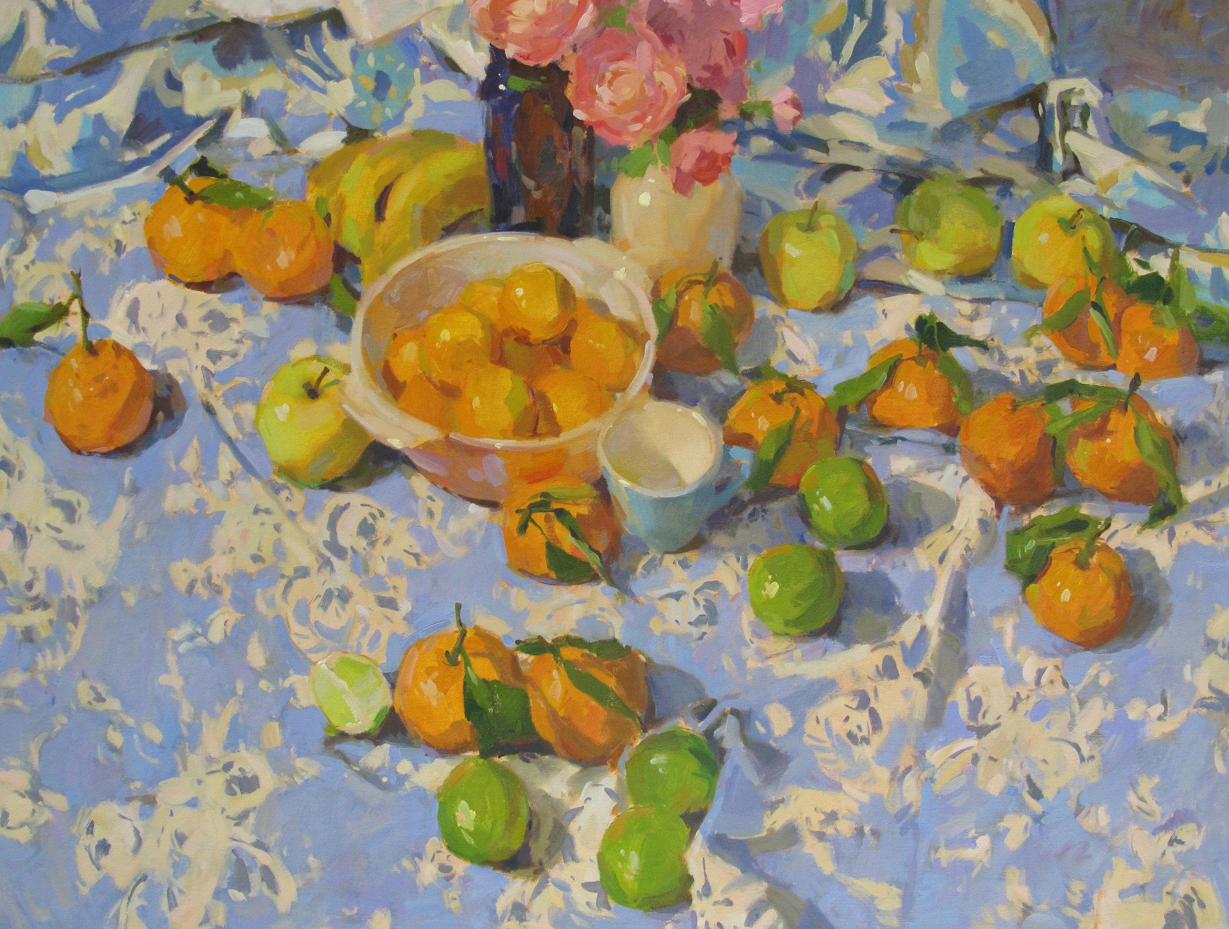 """Citrus  30x40"""" oil on canvas"""
