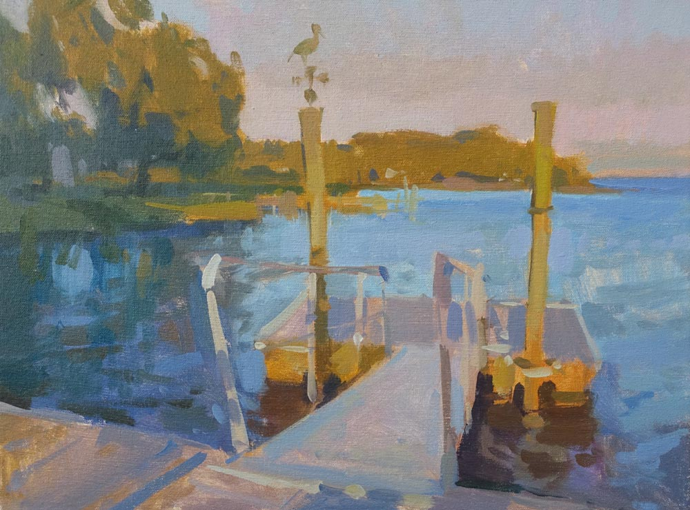 Sunset Dock sm 12x16.jpg