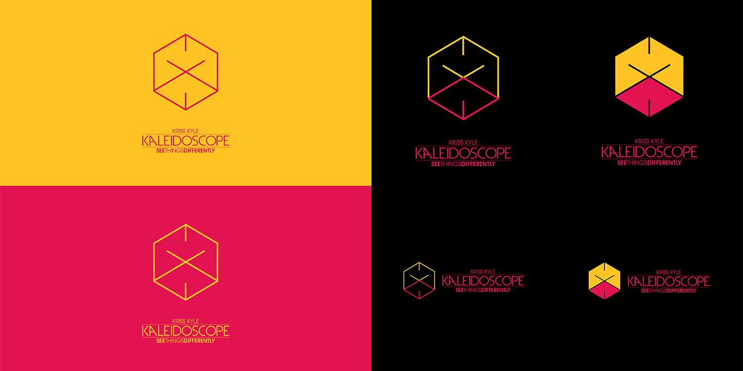 "Kaleidoscope ""See Things Differently"" Brand Identity study and production"