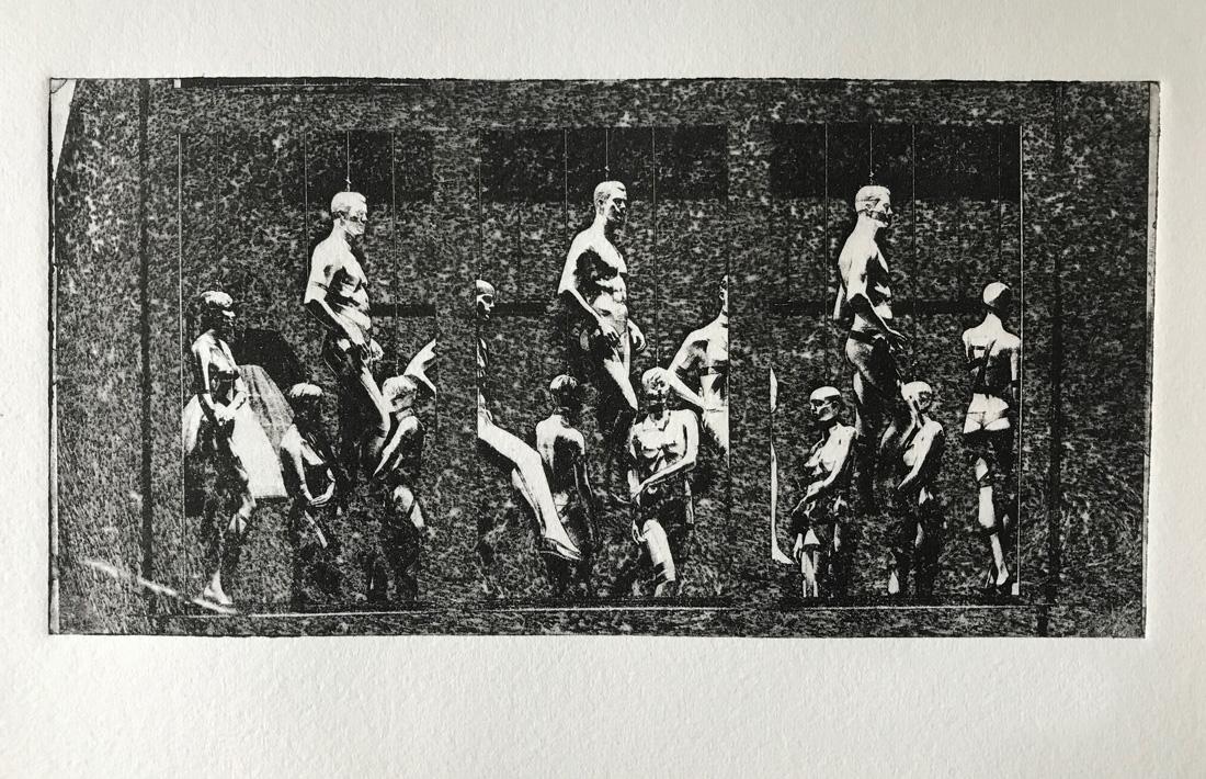 Die Details der Figuren kommen schon ganz gut raus, es gibt auch schon einige wenige Grautöne aber von einem satten schwarz ist das noch weit entfernt. Das kann an der Belichtung liegen (zu lang, zu kurz) oder aber auch an der Drucktechnik ...