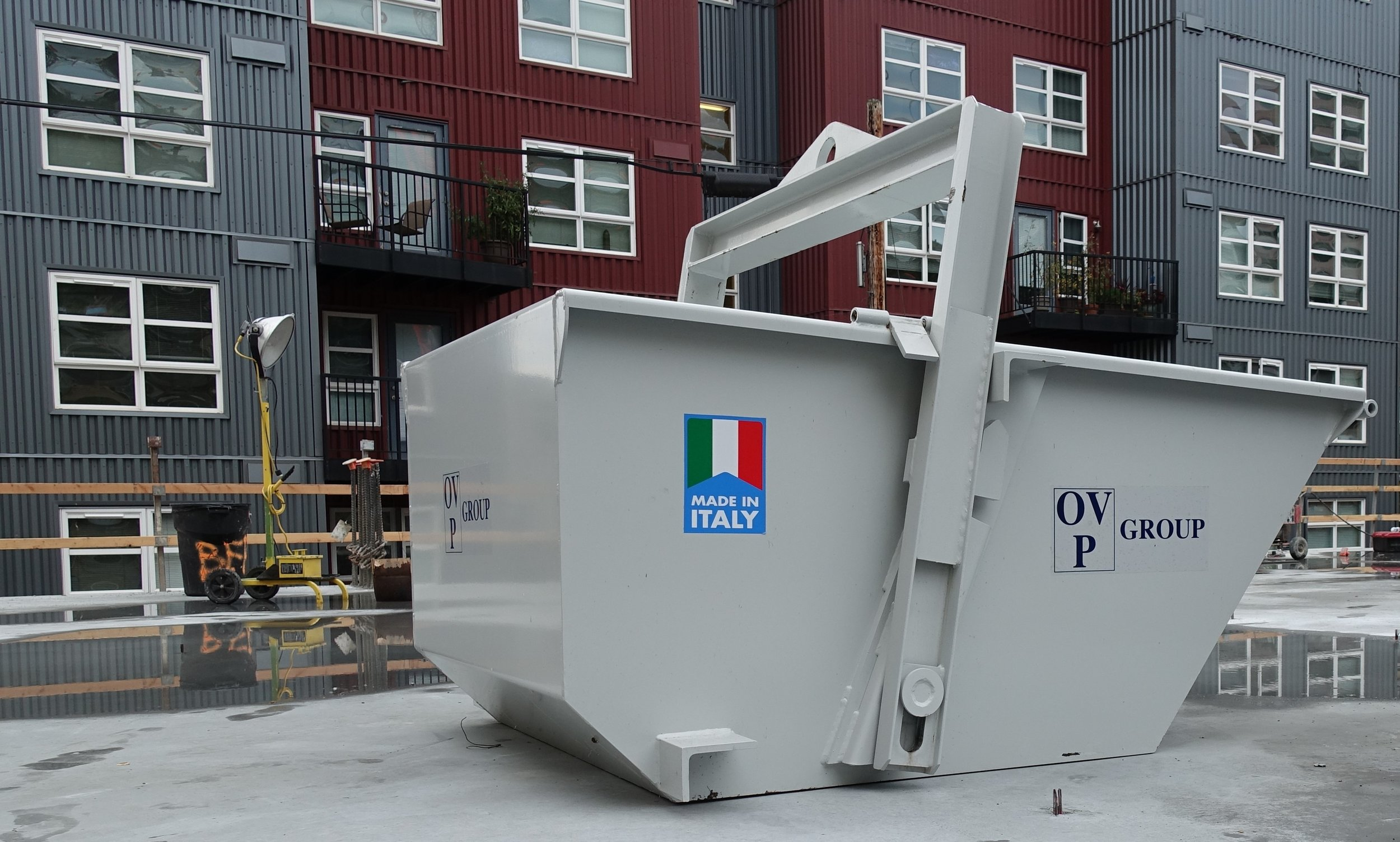 Self-Dumping Bins by OVP