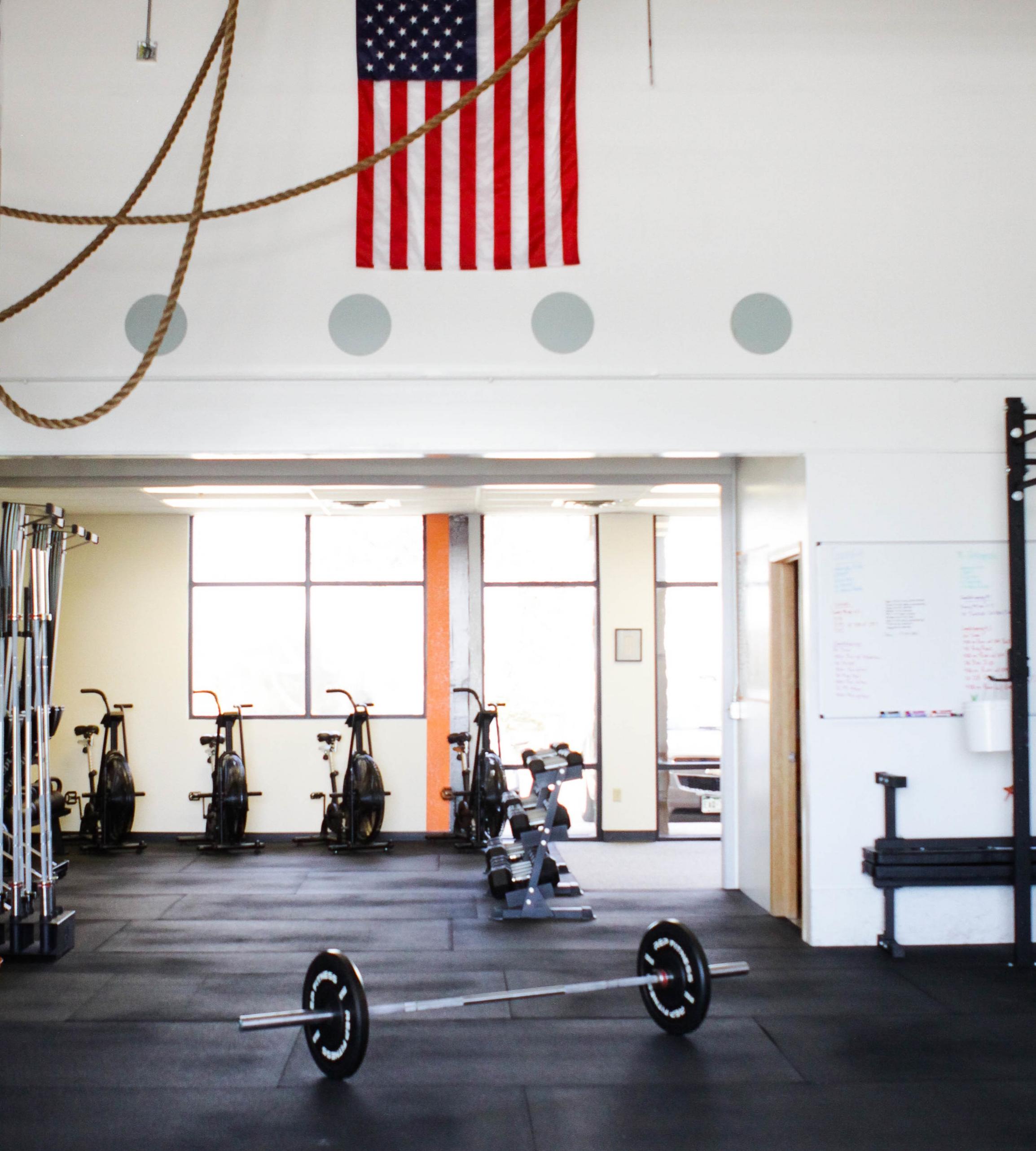 Our Facility - 6886 N Franklin AveLoveland, CO 80538✆ 970-215-1526▸▸ stephanie@crossfit4982.com