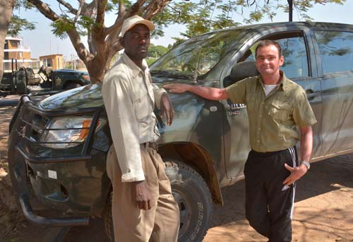 With one of my safari guides