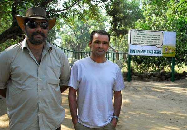 Me with Digpal Singh in India