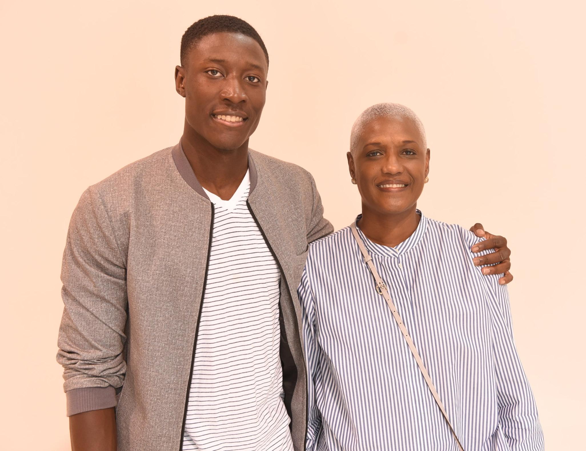 Micah Peters & his mom Marcelle Lambert-Peters