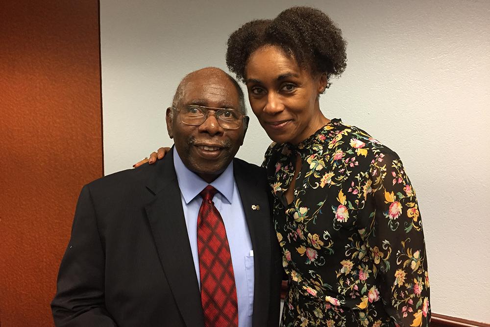 Rosey Ugo Edeh and Oliver Jones