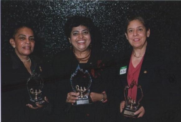 Dr. Miriam Rossi (l), Diana Alli & Dr. Ana Jarvis