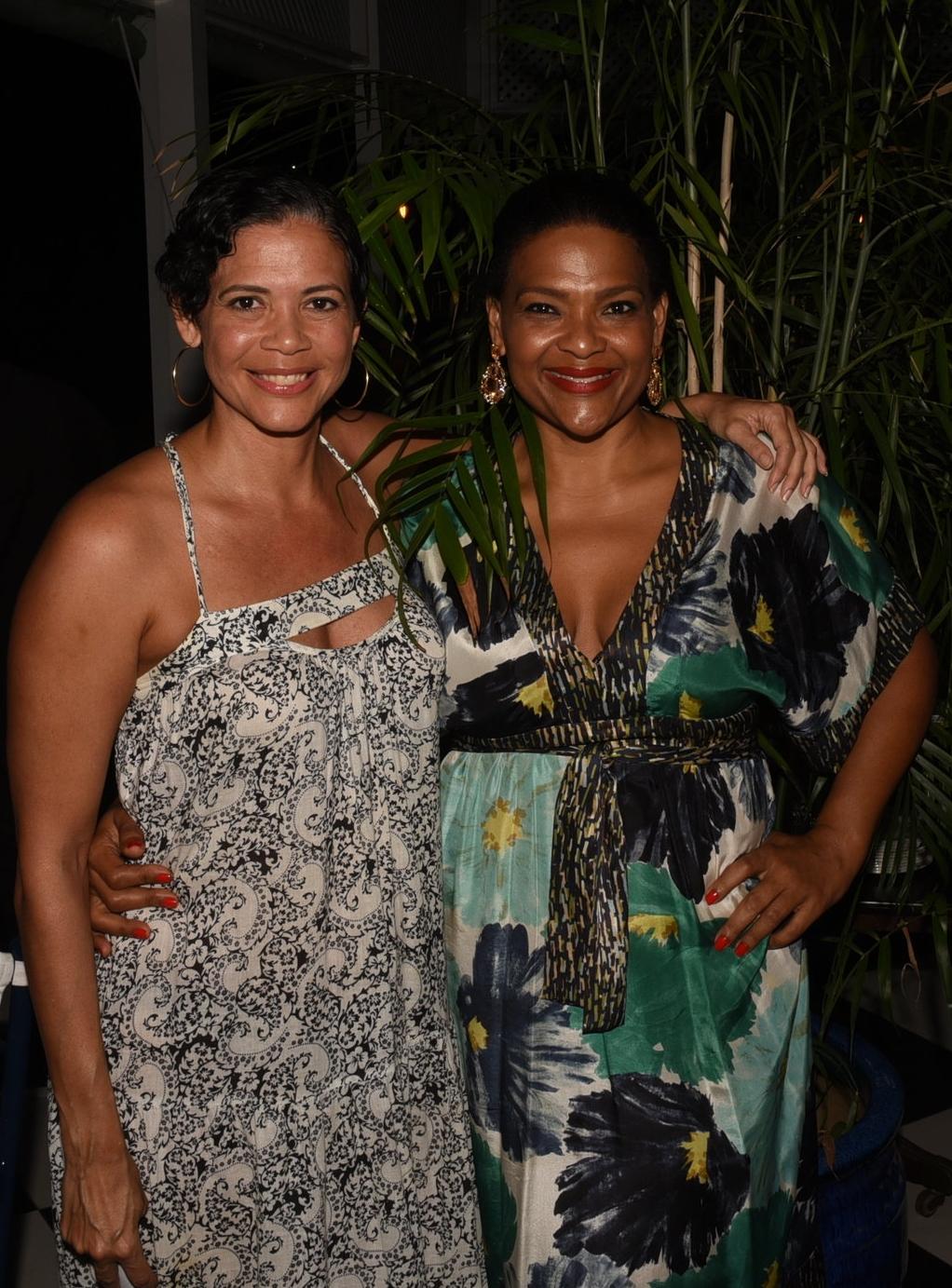 Siblings Michelle (l) & Suzanne Rousseau