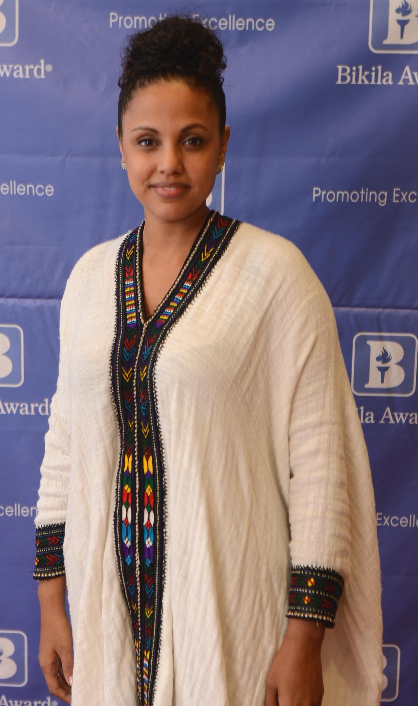 2015 Bikila Award winner Weyni Mengesha