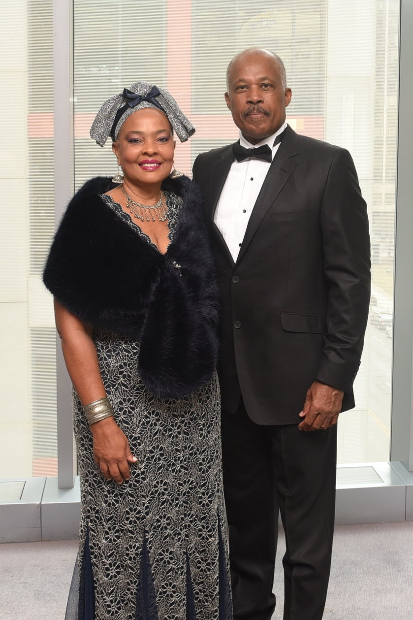 UWI Vice-Chancellor Sir Hilary Beckles and his wife Mary