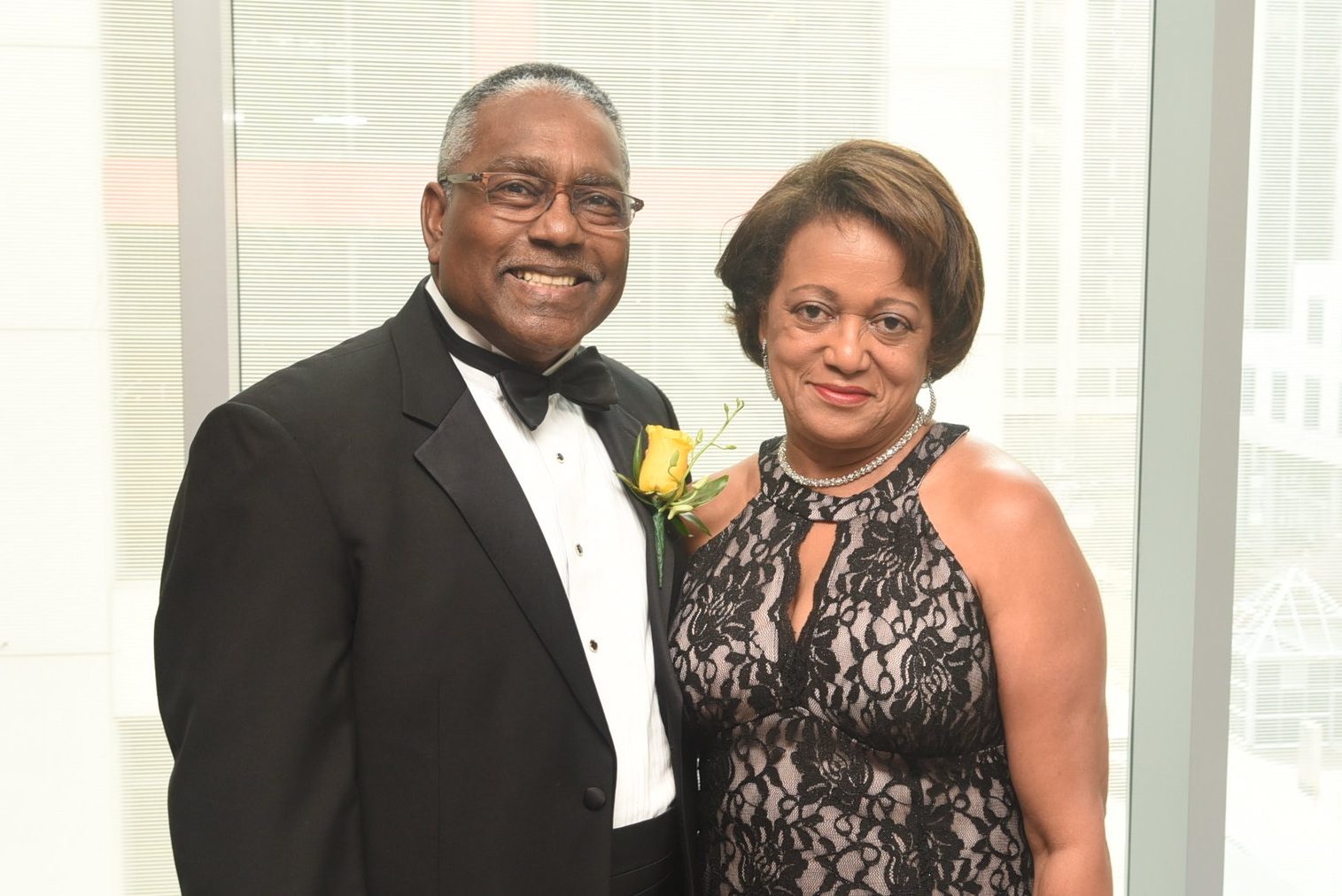 Greg Regis & his wife Althea
