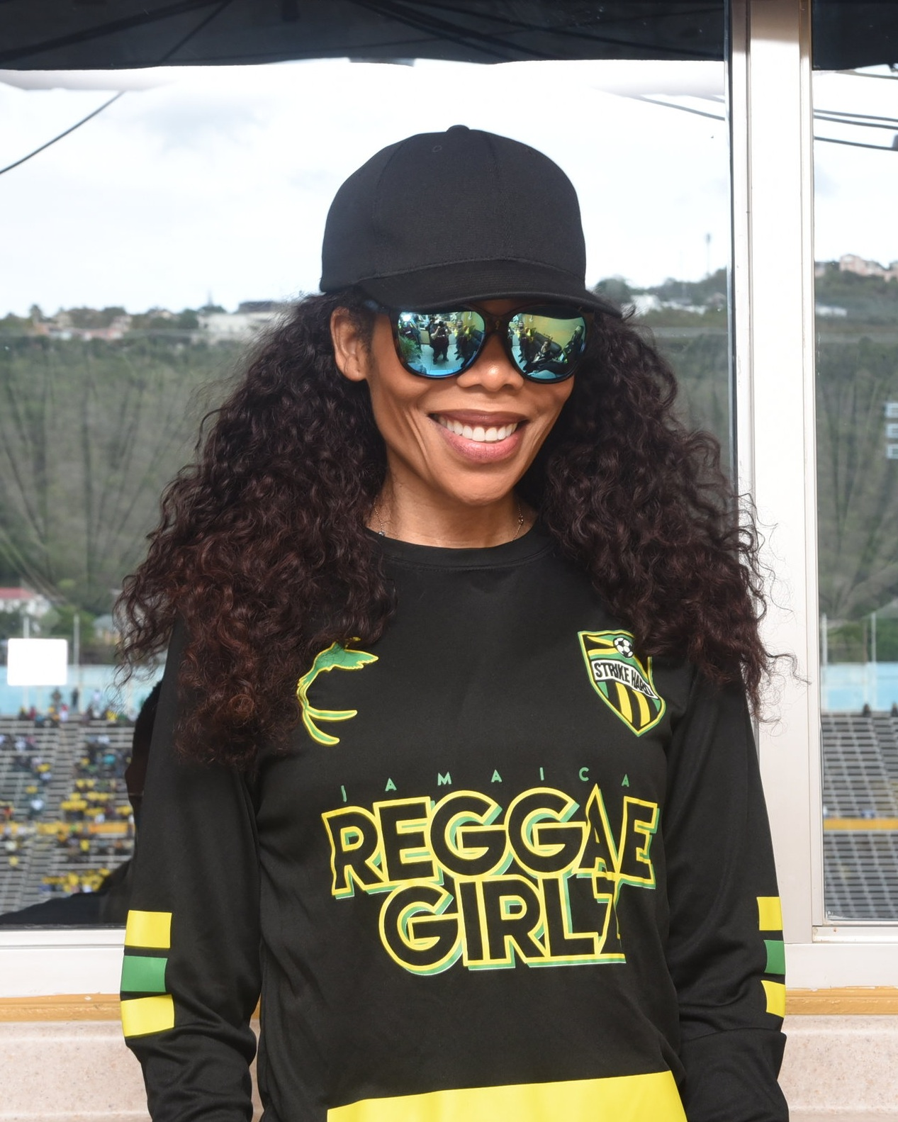 Cedella Marley has been a major supporter of the Reggae Girlz program