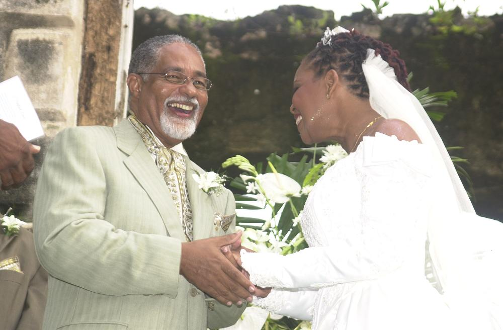 Harold Hoyte is survived by his wife Noreen and three children