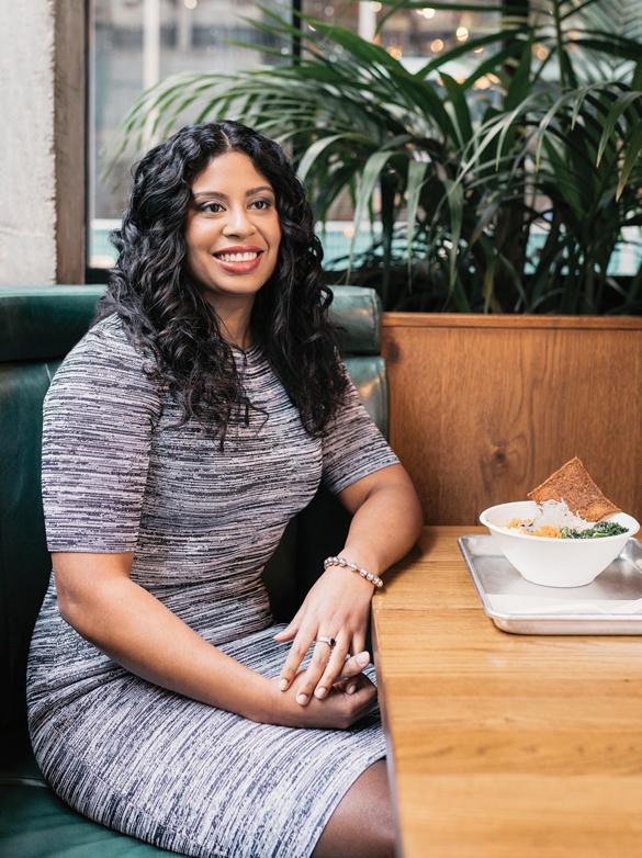 Artisha Lewis was a 2018 CivicAction participant