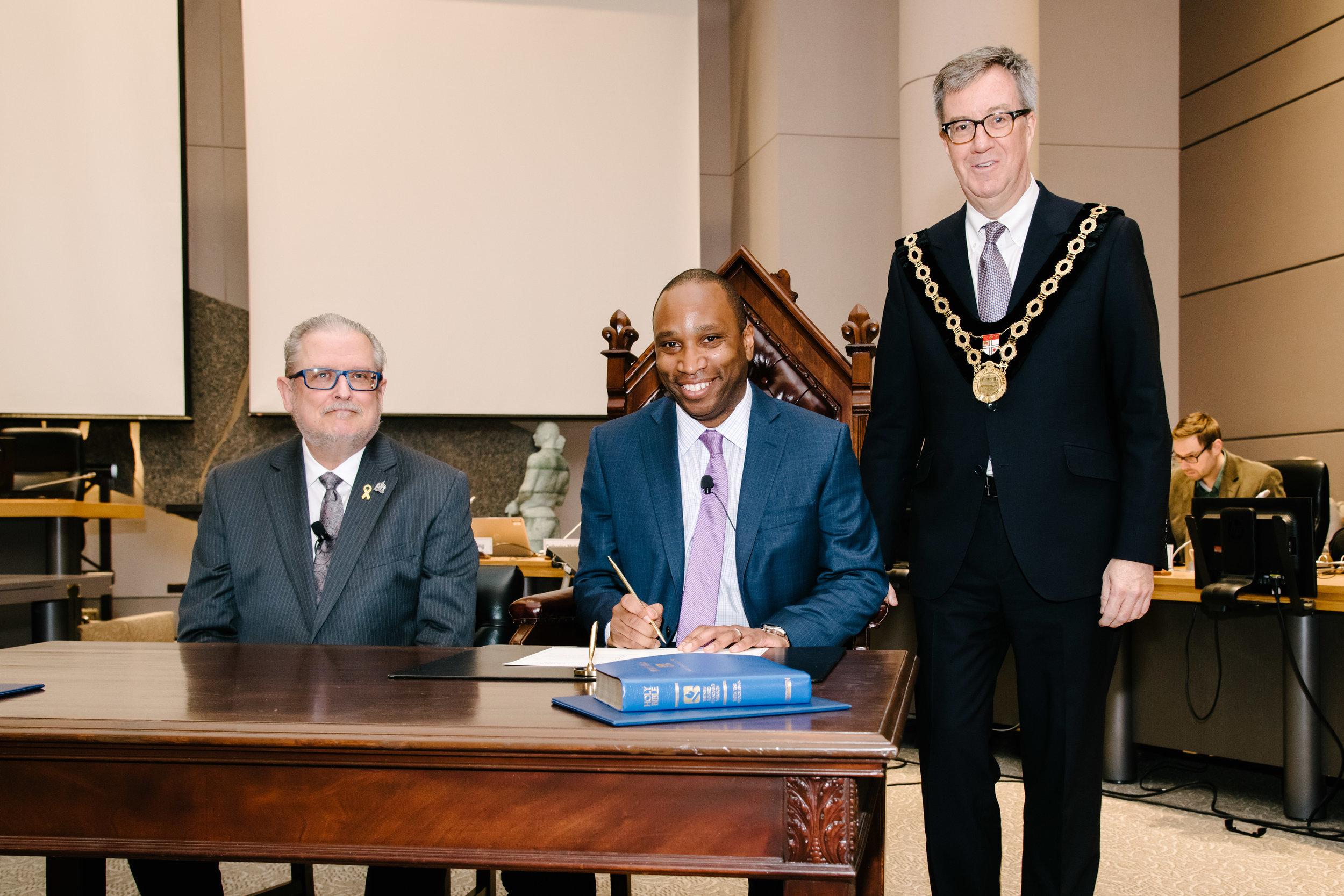 Ottawa's first Black councillor Rawlson King