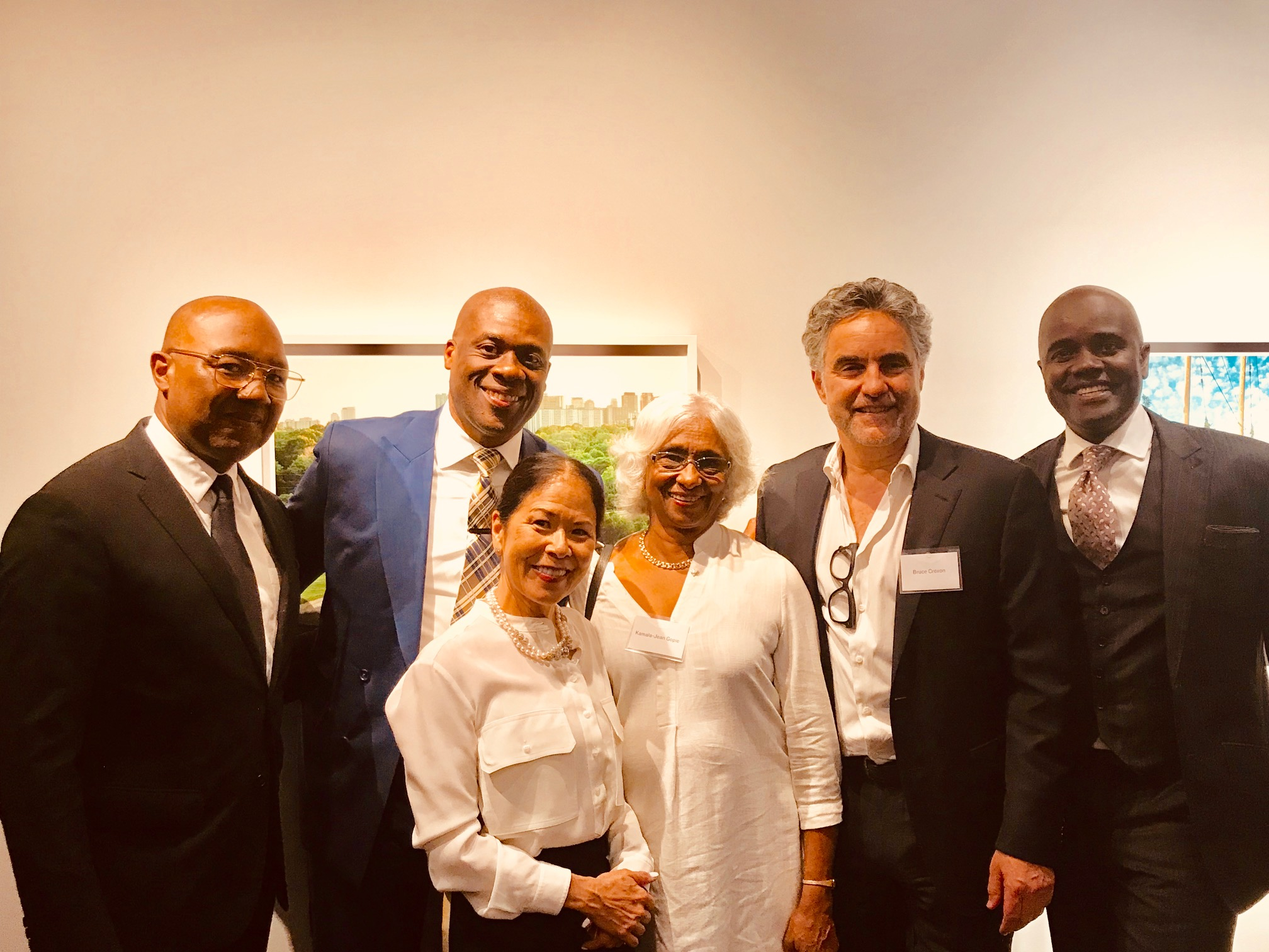 The Montgomery Collection donors include Dr. Kenneth Montague, Justice Donald McLeod, Donette Chin-Loy Chang, Kamala-Jean Gopie, Bruce Croxon and Wes Hall