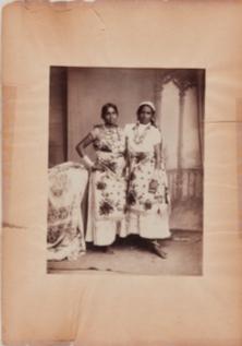 Felix Morin, Two women, Trinidad, ca 1890
