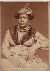 Unknown, Martinique woman, ca 1890