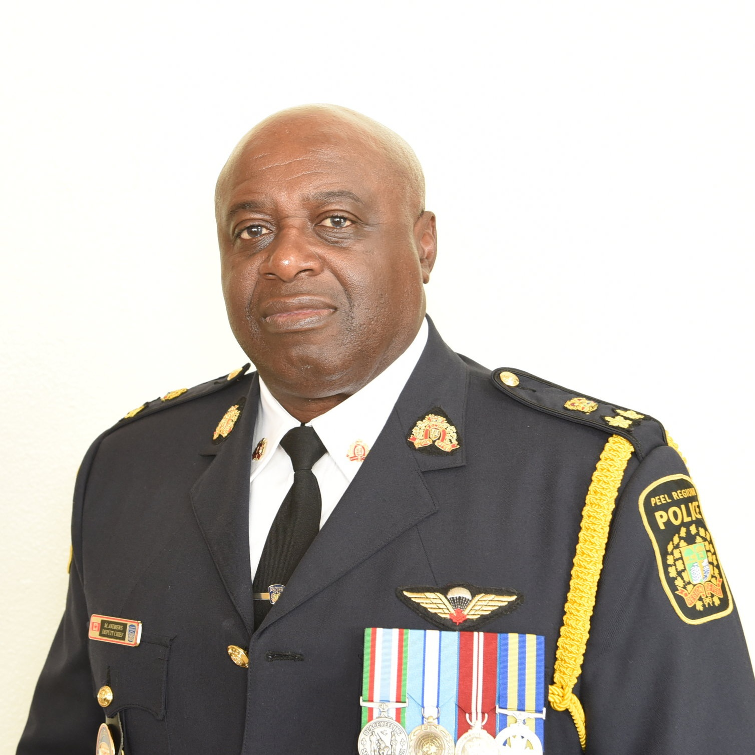 Peel Regional Police Deputy Chief Marc Andrews