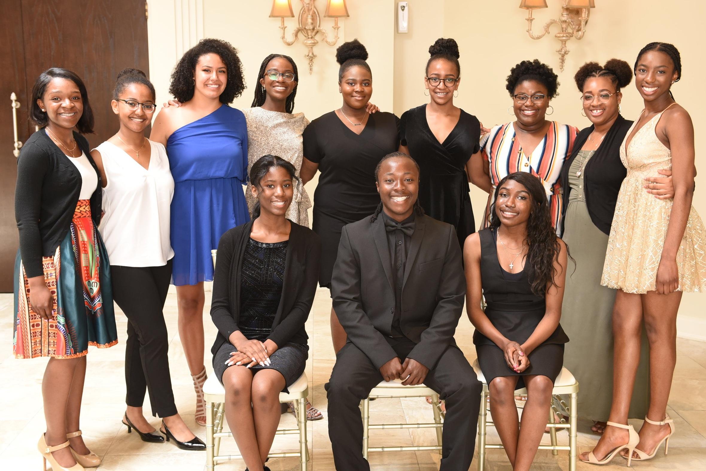 Congress of Black Women (Mississauga & Area chapter) scholarship winners