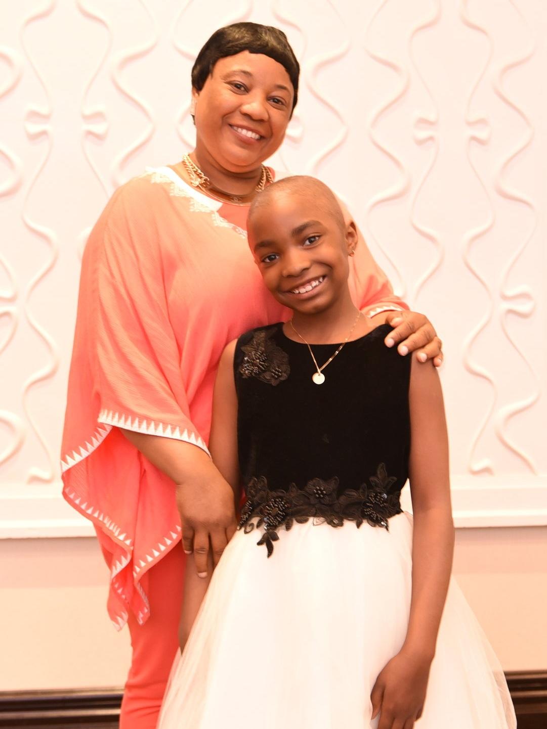 Patrice Bailey and her mom Marsha Davis