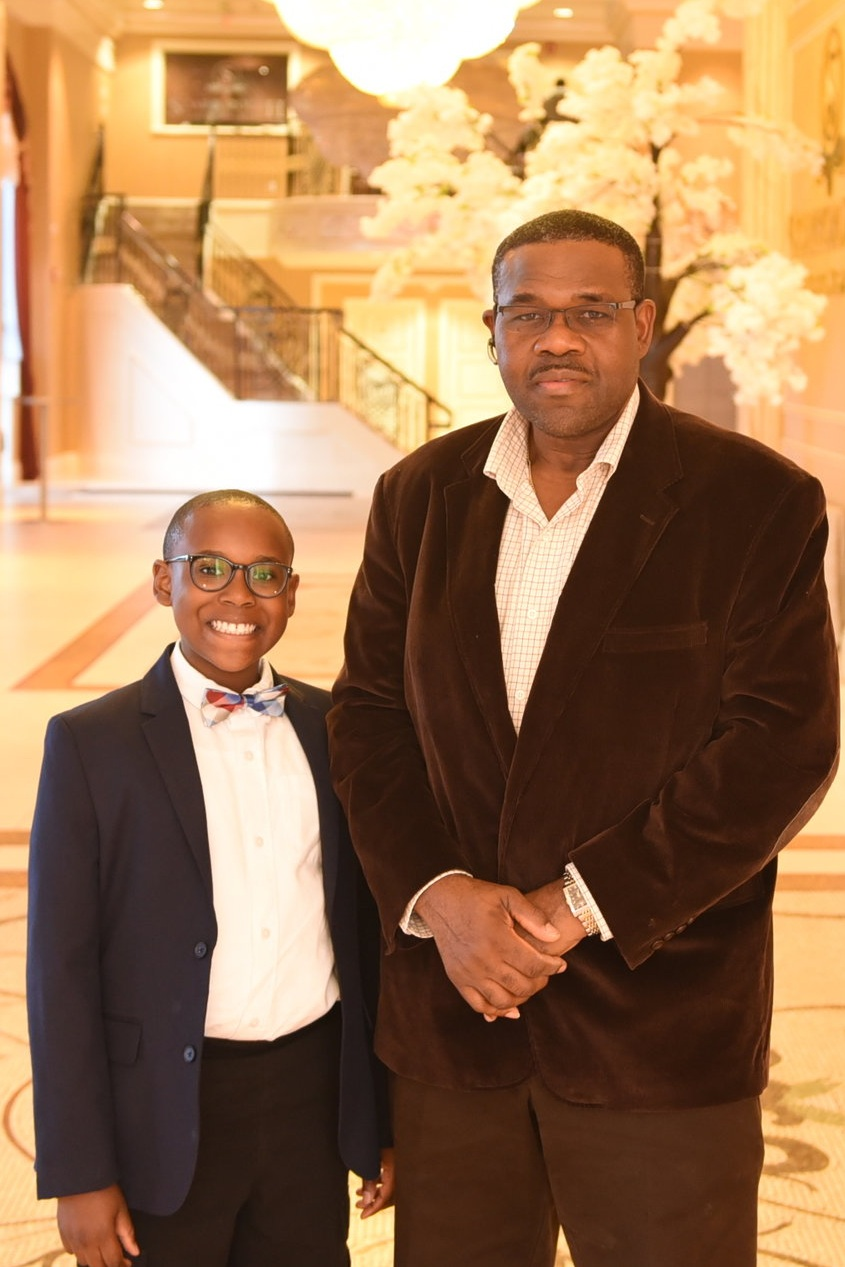 Clement Boyd and his son Brian Boyd