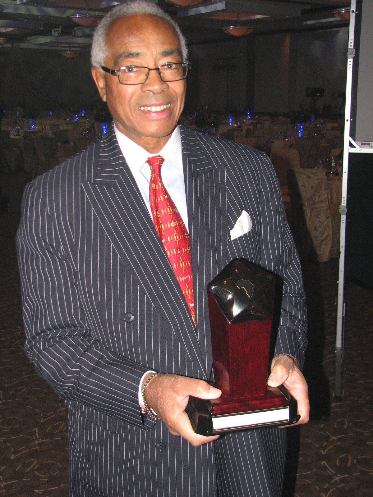 Donald Oliver has been honoured with many awards during an illustrious public service career