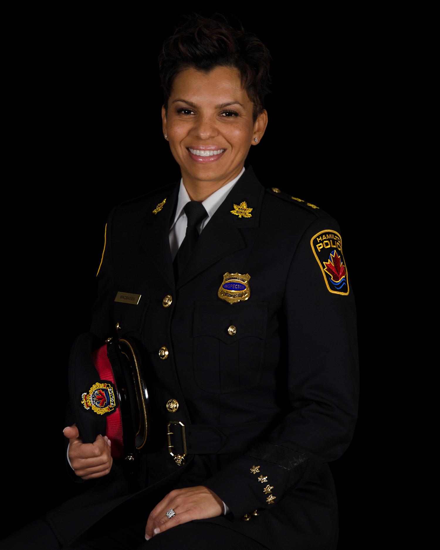 Hamilton Police Service Superintendent-Elect Treena MacSween (Photo contributed)