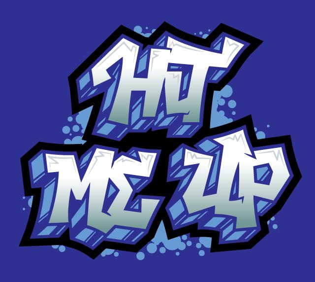 hit-me-up-graffiti-hand-lettering