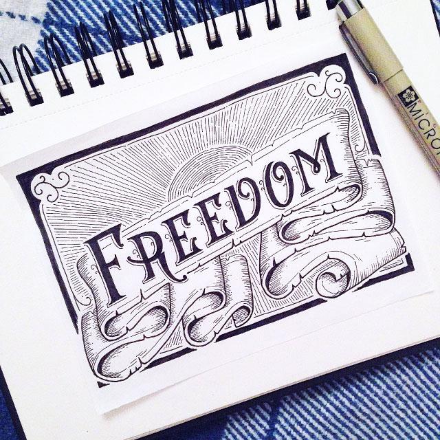 freedom-vintage-ribbon-hand-lettering.jpg
