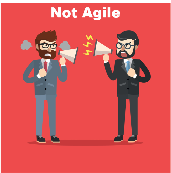 We are doing agile, but are not Agile